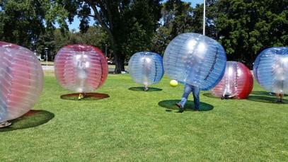 Bubble Soccer Team Challenge