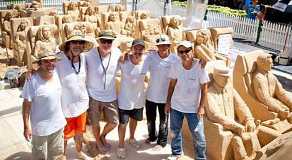 Sand Sculpting Team Challenge featured image